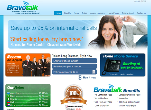 VoIP Company Website - VoIP Company Website Design - Communication Company Website -Telephony Company Website Design