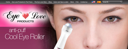 Web developer portfolio: Eye Love Products