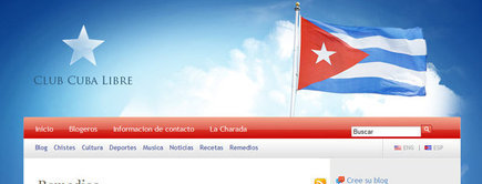 Web developer portfolio: Club Cuba Libre
