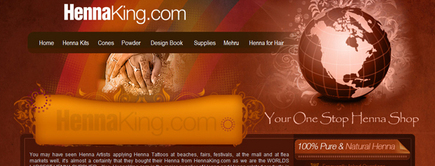 Web developer portfolio: Henna King
